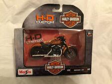 Harley Davidson Sporster Iron 883 Orange 2014 Series 34 1/18 Maisto