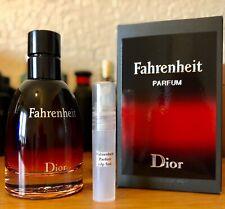 Dior Fahrenheit Parfum EDP 5ml Sample Spray