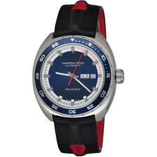 Hamilton Homme 44mm Bracelet toile Bleu Saphire Automatique Montre H35405741