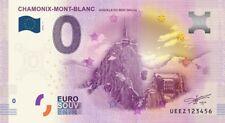Billet Touristique 0 Euro - Chamonix Mont Blanc, aiguille du midi - 2016-1