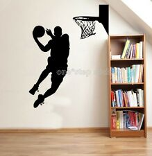basketball Slam dunk Home Decoration Wall Paper Art viny removable Sticker WS191