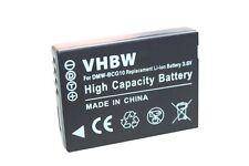 Batterie pour PANASONIC DMW-BCG10 DMW-BCG10E