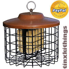 Suet Cake Seed Bird Feeder Wire Metal Cage Squirrel Proof Out Door Back Yard New