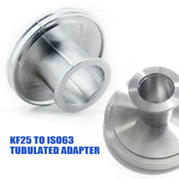 KF25--ISO63 Tubulated AdapterReducer StainlessSteel VacuumPump Flange FittingNew