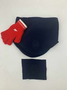 Arsenal adjustable Snood and Gloves