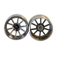 Redcat Racing 08008c 2.8 Chrome 10 spoke wheels 2pcs  08008C