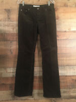 Women's Low Rise Boot Cut Cords Size 8 Brown Tommy Hilfiger Fine Wale