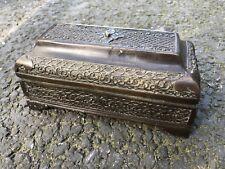 Antique Bronze Embossed Ottoman Islamic? Casket Box