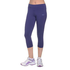 6324d338cc0bf Reebok One Series Womens 3/4 Capri Gym Tights Training Fitness Pants - 2xs