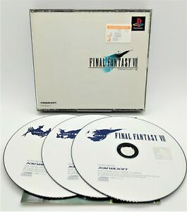Final Fantasy VII Video Game for Sony PlayStation PS1 JAPANESE 00700~2