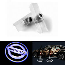 2X LED Ghost Shadow Projector Laser Welcome Logo Lights For Nissan Altima Armada