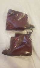 Bella Marie wine suede over the knee boots, New for Women, excellent condition
