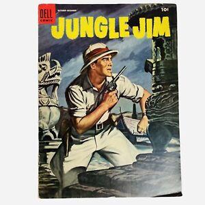 Dell Comic Jungle Jim 3 Golden Age 1954 10 Cents Unrestored Mid Grade