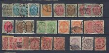 DANEMARK Lot de timbres oblitérés/used