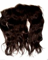HUMAN HAIR Full Lace Frontal Partial Wig Topper Remi Remy 13x4 14 in. In Stock