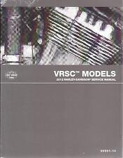 2012 Harley VRSC VRSCDX VRSCF Repair Service Workshop Manual 99501-12