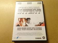 DVD / CRIMINAL INTENT (JACK SCALIA, ROBERT DAVI)