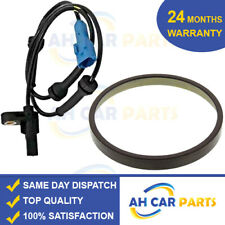 MAGNETIC ABS RING + ABS SPEED SENSOR REAR FOR PEUGEOT 206