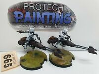Star Wars Legion - 74-Z Speeder Bikes (Core) - Painted (665)