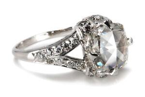 Ring Diamant 2,04 ct I/vs2 / Brillanten insg 0,40ct IGI Gutachten [BRORS 18366]