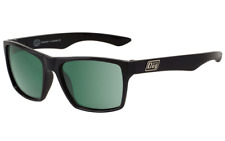 DIRTY DOG VENDETTA 53171 Polarised CLASSIC RETRO STYLE Sunglasses BLACK / GREEN