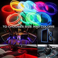 2M/3M/5M/10M LED Flexible EL Atmosphere Neon Glow Strip Light Dance Party Decor