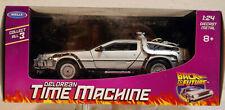 1985 Zurück in die Zukunft I De Lorean DMC 12 Time Machine 1:24 Welly 22443