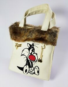 Medium Bag Media Sylvester Jr. Embroidered With Fur Synthetic By Love Girl