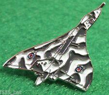 New Falklands/Cold War Avro Vulcan RAF Jet Bomber Military Metal Aircraft Badge