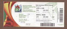 Orig.Ticket    U20 Frauen WM CANADA 2014  FINALE  NIGERIA - DEUTSCHLAND  !!  TOP
