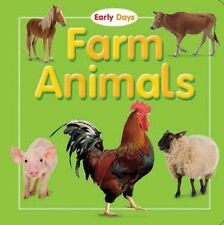 new FARM ANIMALS (Early Days Board Book) - The Top That Team - Hardcover