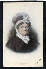 Jean Armour - wife of Robert Burns, Scotland. G.W.W. postcard of a painting.