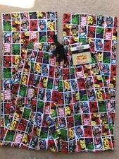 Mens Marvel Comics ~ Comic Book Pyjama Bottoms/PJ's/Lounge Pants/Loungewear ~ XS