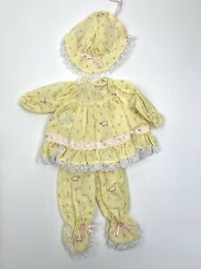 "Vintage  LEE MIDDLETON DAYDREAMER SUNSHINE 3 Piece Outfit For 12"" Doll"