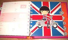 NEW BON BON HAPPA FRENCH-JAPANESE GIRL 60s FASHION ADDRESS BOOK PHONE Tolentino