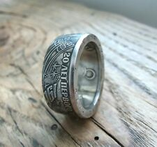 The First man in space (Yuri Gagarin) Coin ring - USSR - USSR Vintage - Space