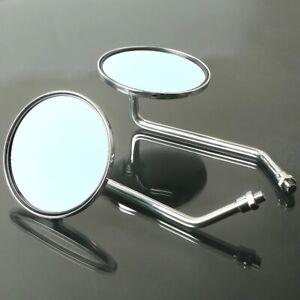 Universal M8/M10 Side Retro Rear View Mirrors Pair For Vespa GTS SUPER 300IE