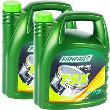 10W-40 (2x5L) 10 Liter FANFARO 10W40 TSX Motor-Öl MB 229.1 VW 501.01 VW 505.00