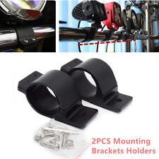2PCS Car Offroad Truck Bull Bar LED Work Fog Driving Light Holder Mount Bracket