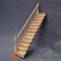 Miniature Wooden Stairway 1:12 Mini Dollhouse Stairway Any House Mini Stairway U