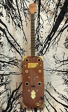 Cigar Box Guitar- Bydand Instruments (The Edge) 4-String W/ Humbucker & Piezo