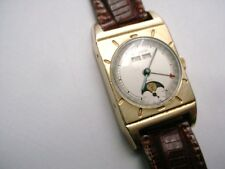 Rare Vintage LeCoultre Triple Date Moon Phase Caliber 486/AW 1950s ASTRONOMIC
