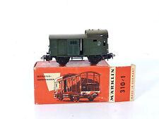 Märklin H0 4600, 310/1 Gepäckwagen 1.Version nur 1956! OVP Top 800