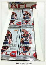 2002 Select AFL Exclusive Trading Cards Sealed Loose Packs Unit of 4--packs