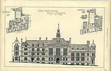 1892, Oxford Municipal Buildings Design Whiteman Rising