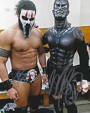 Finn Balor Prince Devitt & Tama Tonga Signed 8x10 Photo BAS COA Bullet Club WWE