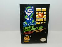 Luigi's Chronicles Nintendo NES Game Brand New Complete USA