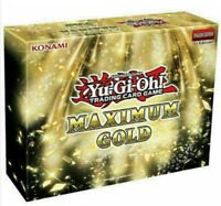 YuGiOh Maximum Gold Mini Box 1st Ed FACTORY SEALED