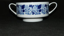Melitta Serie Hamburg Dekor Blütenspiel blau Suppentasse 0,3 ltr. / 10 cm Dm