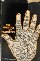 Practice of Palmistry by Saint Germain Comte De Paperback Book The Fast Free